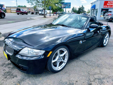 2007 BMW Z4 for sale at J & M PRECISION AUTOMOTIVE, INC in Fort Collins CO