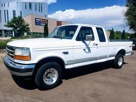 1994 Ford F-150 for sale at J & M PRECISION AUTOMOTIVE, INC in Fort Collins CO