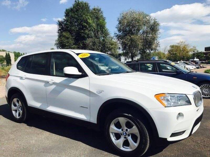 2012 BMW X3 for sale at J & M PRECISION AUTOMOTIVE, INC in Fort Collins CO