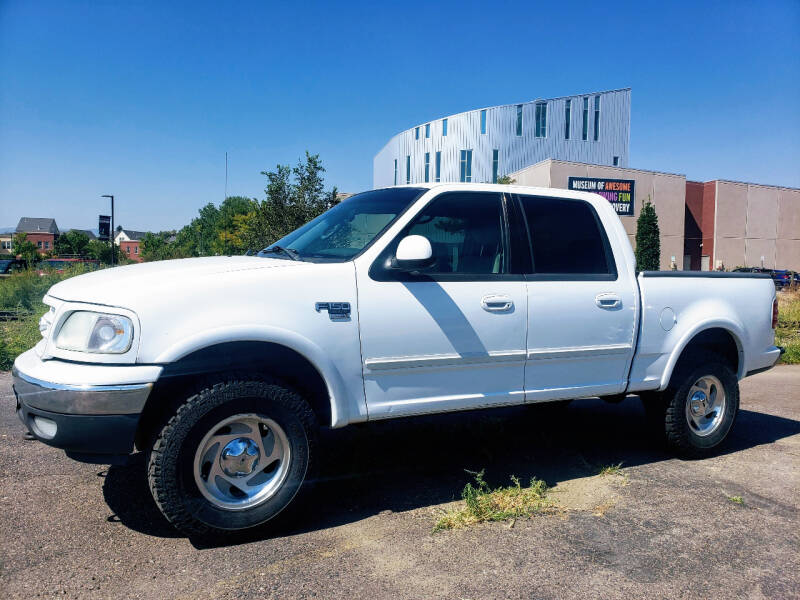 2003 Ford F-150 for sale at J & M PRECISION AUTOMOTIVE, INC in Fort Collins CO