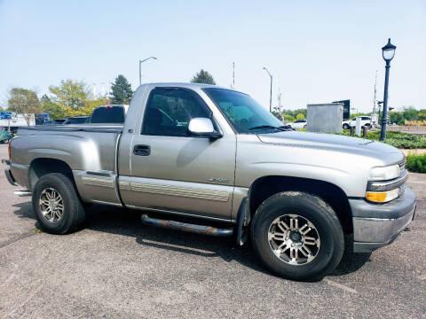 2000 Chevrolet Silverado 1500 for sale at J & M PRECISION AUTOMOTIVE, INC in Fort Collins CO