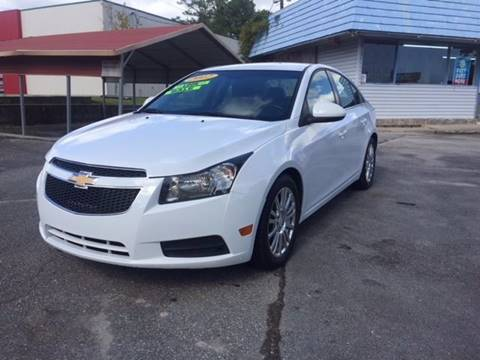 2012 Chevrolet Cruze for sale in Jacksonville, NC