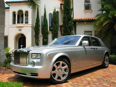 2010 Rolls-Royce Phantom for sale at Mirabella Motors in Tampa FL