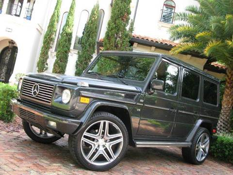 2002 Mercedes-Benz G-Class for sale at Mirabella Motors in Tampa FL