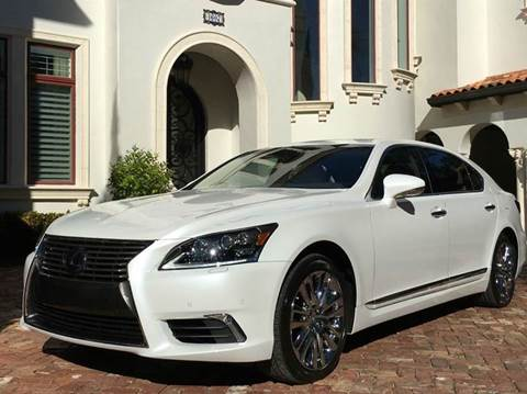 2014 Lexus LS 600h L for sale at Mirabella Motors in Tampa FL
