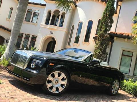 2008 Rolls-Royce Phantom Drophead Coupe for sale at Mirabella Motors in Tampa FL
