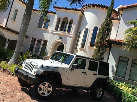 2010 Jeep Wrangler Unlimited for sale at Mirabella Motors in Tampa FL