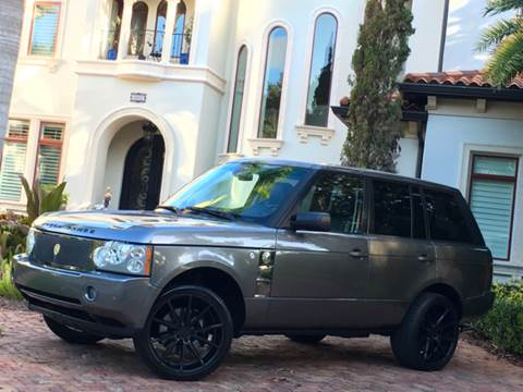 2007 Land Rover Range Rover for sale at Mirabella Motors in Tampa FL