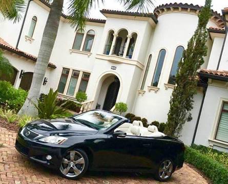 2010 Lexus IS 350C for sale at Mirabella Motors in Tampa FL
