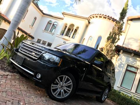 2012 Land Rover Range Rover for sale at Mirabella Motors in Tampa FL