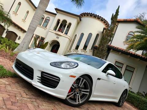 2014 Porsche Panamera for sale at Mirabella Motors in Tampa FL