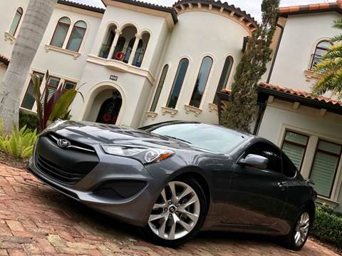 2013 Hyundai Genesis Coupe for sale at Mirabella Motors in Tampa FL