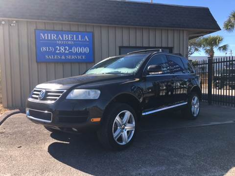 2004 Volkswagen Touareg for sale at Mirabella Motors in Tampa FL