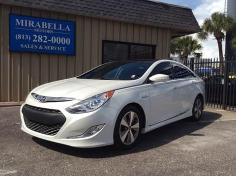 2012 Hyundai Sonata Hybrid for sale at Mirabella Motors in Tampa FL