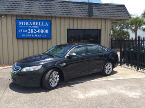 2010 Ford Taurus for sale at Mirabella Motors in Tampa FL