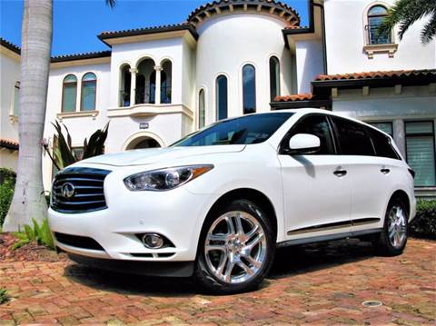2013 Infiniti JX35 for sale at Mirabella Motors in Tampa FL