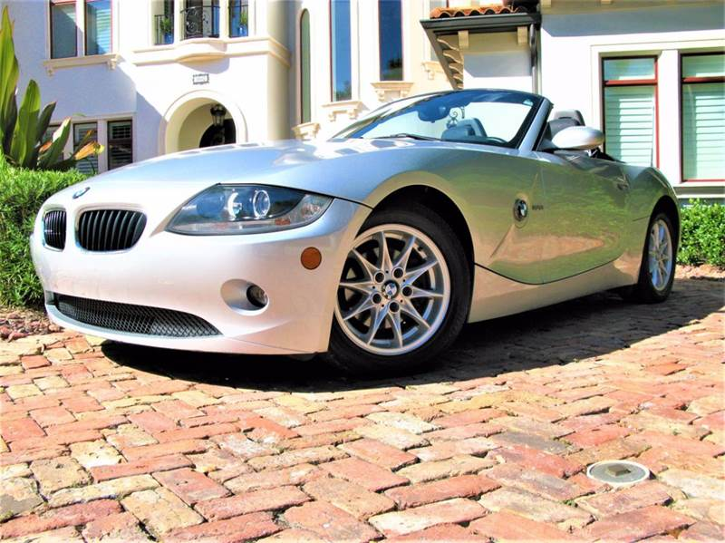 2005 BMW Z4 for sale at Mirabella Motors in Tampa FL