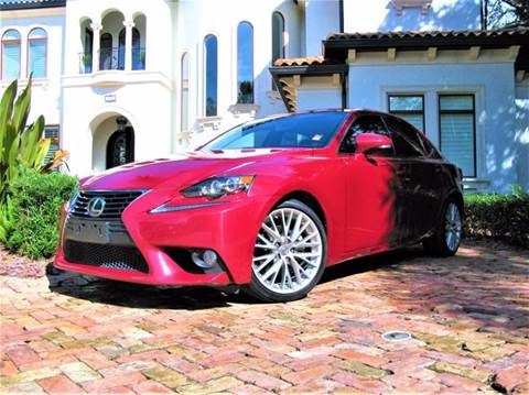 2014 Lexus IS 250 for sale at Mirabella Motors in Tampa FL