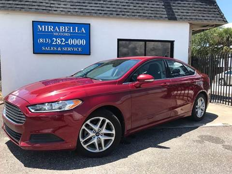 2014 Ford Fusion for sale at Mirabella Motors in Tampa FL