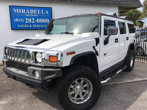 2005 HUMMER H2 for sale at Mirabella Motors in Tampa FL