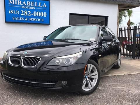 2009 BMW 5 Series for sale at Mirabella Motors in Tampa FL