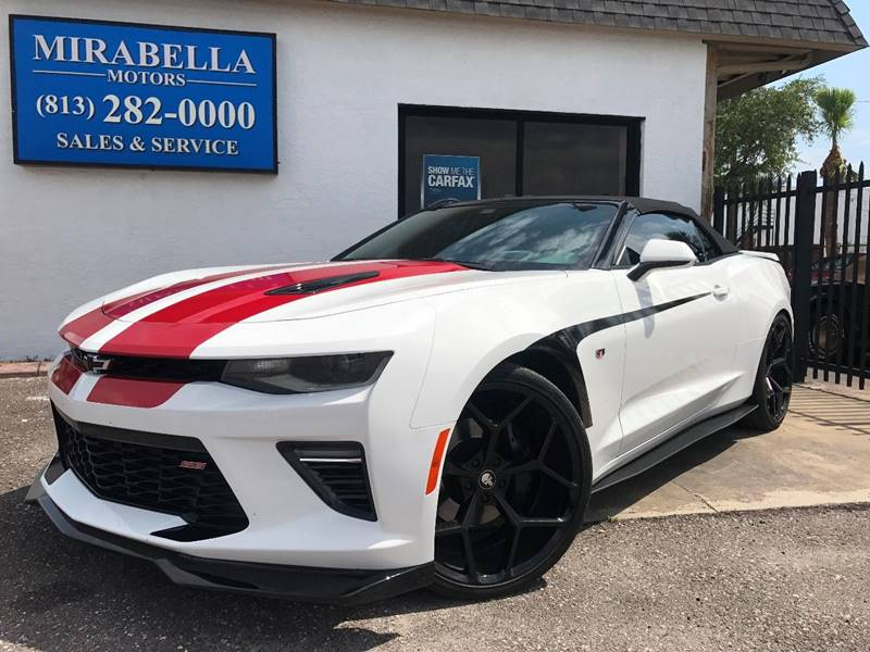 2016 Chevrolet Camaro SS 2dr Convertible w/2SS - Tampa FL