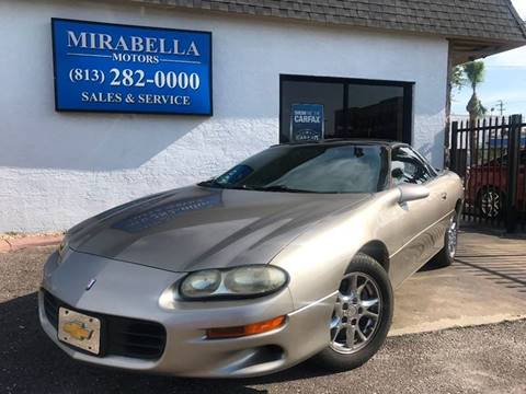 2002 Chevrolet Camaro for sale at Mirabella Motors in Tampa FL