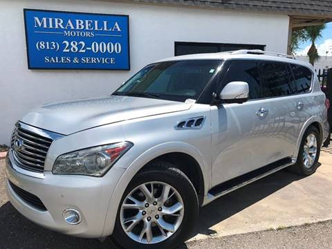 2011 Infiniti QX56 for sale at Mirabella Motors in Tampa FL