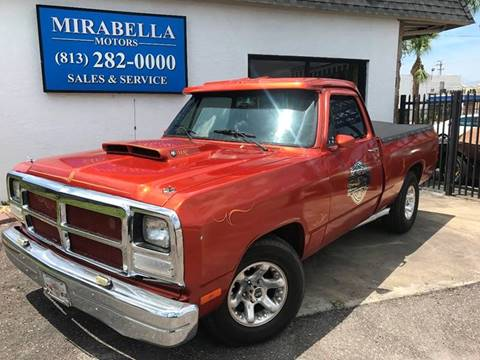 1991 Dodge RAM 150 for sale at Mirabella Motors in Tampa FL