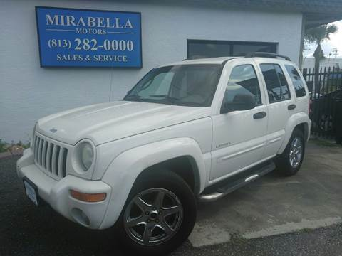 2004 Jeep Liberty for sale at Mirabella Motors in Tampa FL
