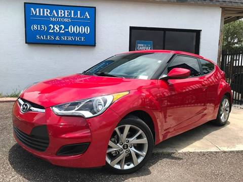 2016 Hyundai Veloster for sale at Mirabella Motors in Tampa FL