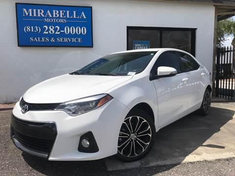 2015 Toyota Corolla for sale at Mirabella Motors in Tampa FL