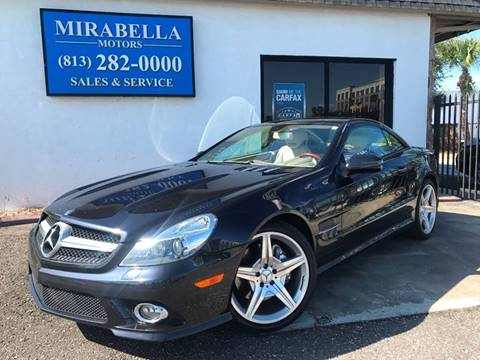 2009 Mercedes-Benz SL-Class for sale at Mirabella Motors in Tampa FL