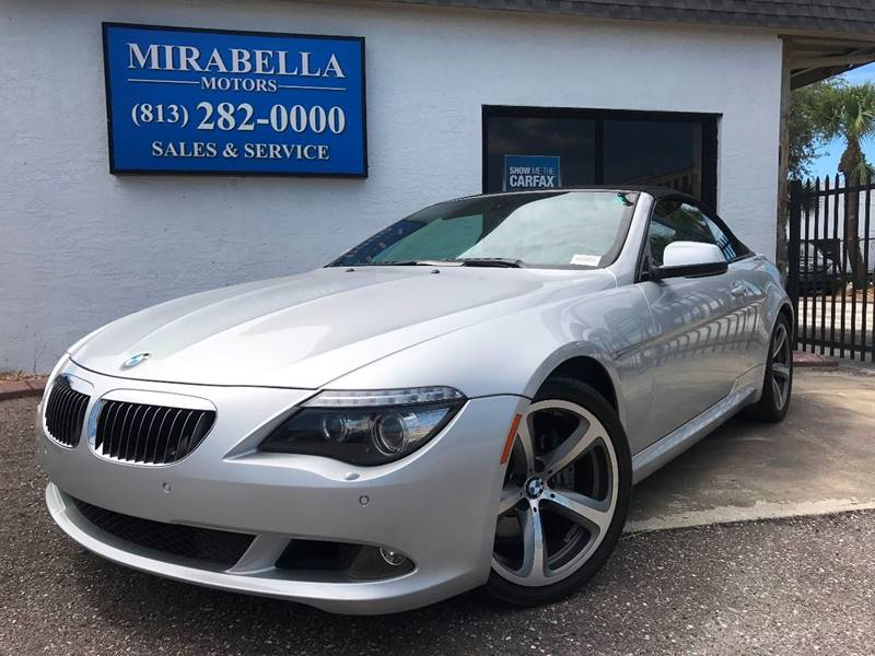 2010 BMW 6 Series for sale at Mirabella Motors in Tampa FL