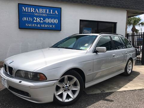 2003 BMW 5 Series for sale at Mirabella Motors in Tampa FL