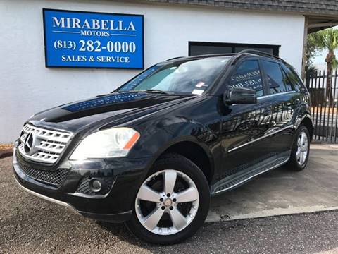 2011 Mercedes-Benz M-Class for sale at Mirabella Motors in Tampa FL