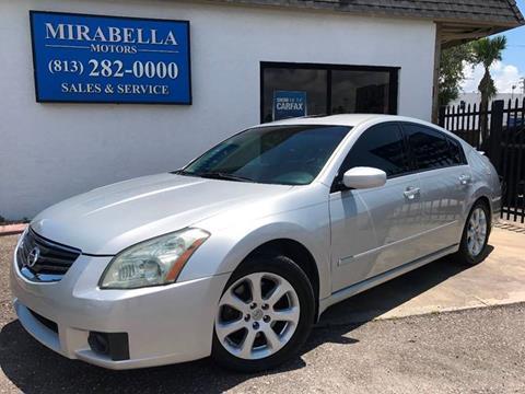 2007 Nissan Maxima for sale at Mirabella Motors in Tampa FL