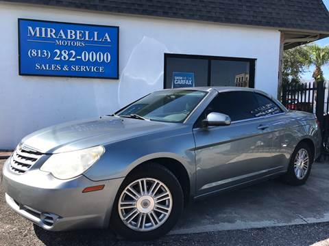 2008 Chrysler Sebring for sale at Mirabella Motors in Tampa FL