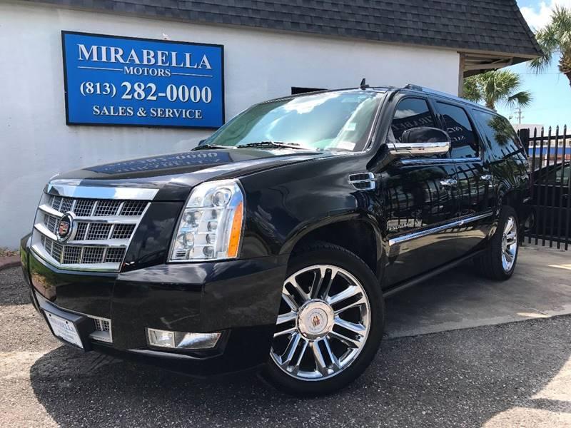 2014 Cadillac Escalade Esv Platinum 4dr Suv In Tampa Fl Mirabella