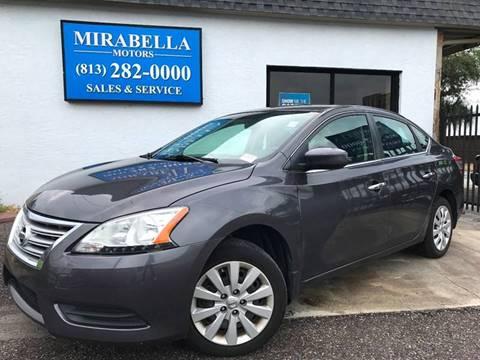 2015 Nissan Sentra for sale at Mirabella Motors in Tampa FL