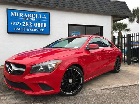 2014 Mercedes-Benz CLA for sale at Mirabella Motors in Tampa FL