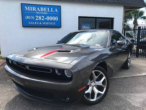 2016 Dodge Challenger for sale at Mirabella Motors in Tampa FL