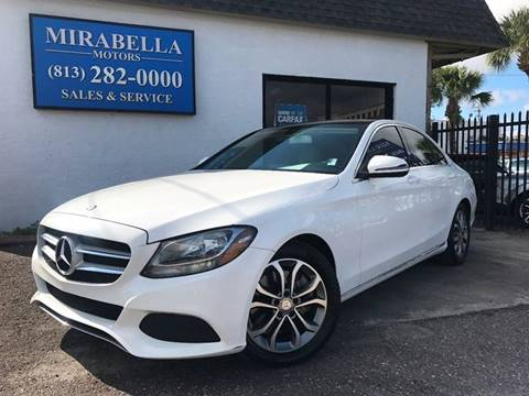 2016 Mercedes-Benz C-Class for sale at Mirabella Motors in Tampa FL