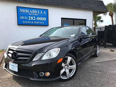 2010 Mercedes-Benz E-Class for sale at Mirabella Motors in Tampa FL