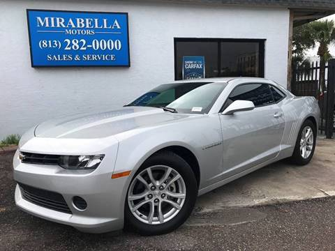 2015 Chevrolet Camaro for sale at Mirabella Motors in Tampa FL