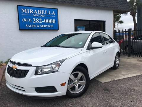 2014 Chevrolet Cruze for sale at Mirabella Motors in Tampa FL
