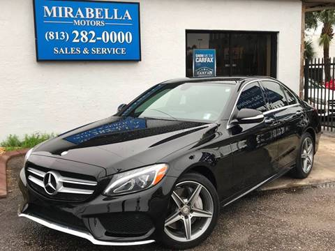 2015 Mercedes-Benz C-Class for sale at Mirabella Motors in Tampa FL