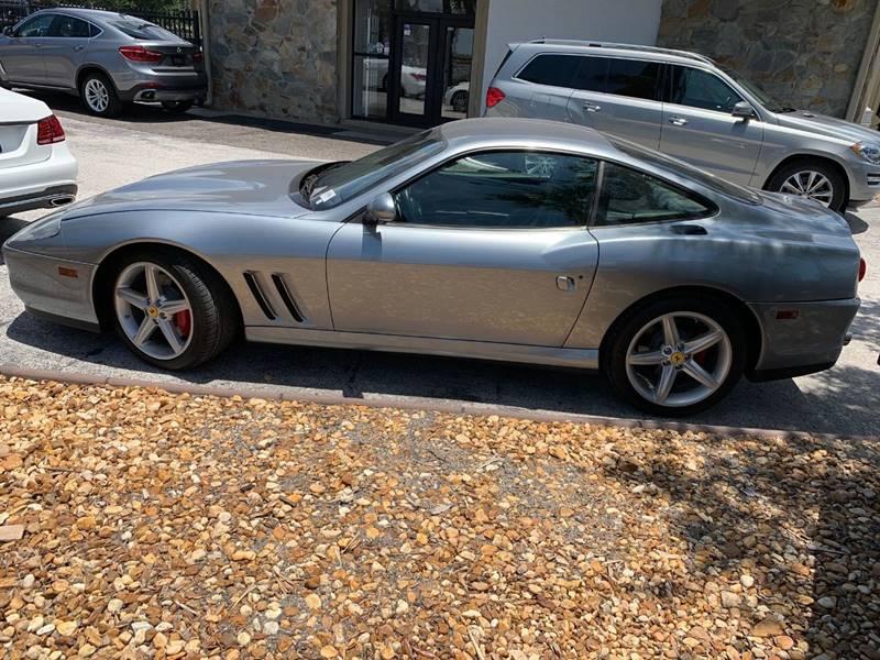 2002 Ferrari 575M for sale at Mirabella Motors in Tampa FL