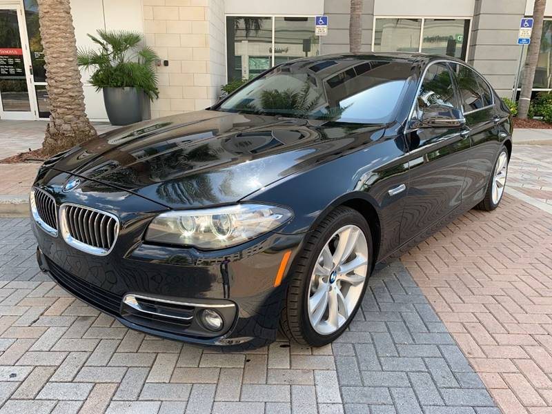 2016 BMW 5 Series for sale at Mirabella Motors in Tampa FL
