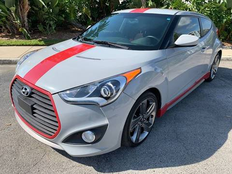2014 Hyundai Veloster Turbo for sale at Mirabella Motors in Tampa FL